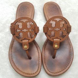 Tory Burch Miller Vintage Vachetta Leather Sandal